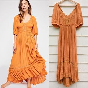 New Free People Natural Beauty Dress